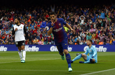 Barca set new La Liga record after 39 games unbeaten