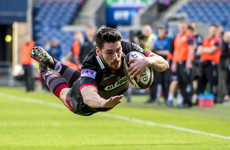 Eight-try Edinburgh rip Scarlets apart to edge towards Pro14 playoffs