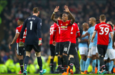 Manchester United aiming to keep City's title celebrations on hold again