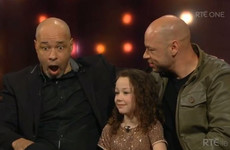 Paul McGrath had a very cute reaction when his granddaughter told Ray D'Arcy he's her favourite person in the world