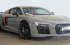Motor envy: The R8 V10 plus is Audi's fastest production car ever