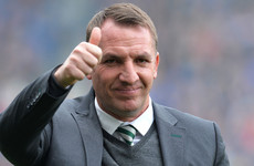 'It takes a lot of personality and courage to take that kind of penalty': Rodgers hails Dembele