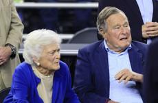 Former US First Lady Barbara Bush in 'failing health'