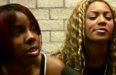 Twitter is fairly certain that Destiny's Child were high AF in this backstage footage from 2001