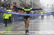 Desiree Linden waited for a racer to use the loo during the Boston marathon and still won by 4 minutes