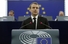 France's Macron warns MEPs of growing sense of authoritarianism in Europe