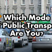 Which Mode Of Public Transport Are You?