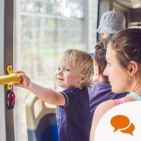 Column: 'Don�t judge a commuting parent. Smile at that noisy toddler'