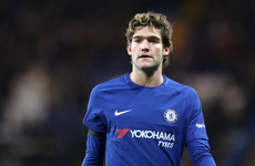 Chelsea's Marcos Alonso handed three-match ban for stamp on Shane Long