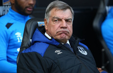 Allardyce upset by Everton survey asking fans to rate his performance as manager