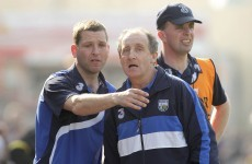 Waterford set to ratify new backroom duo at meeting tonight