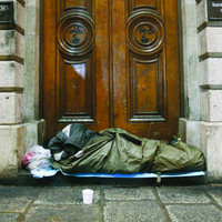 Record decrease in number of rough sleepers in Dublin in past six months