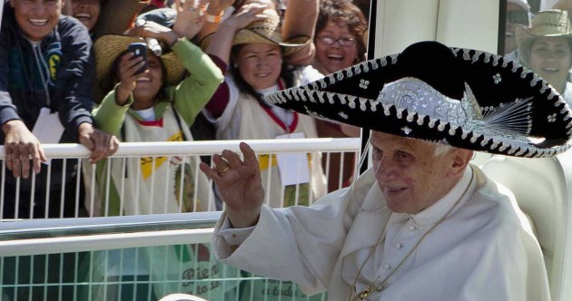 Pope in a Sombrero Pic of the Day