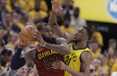 Cavs squander 17-point half-time lead to suffer defeat in game three of play-off series