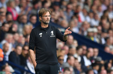 Klopp: 'West Brom decided not to water the pitch at half-time and that makes it difficult'