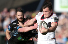 Dramatic late Timoney try keeps Ulster's Pro14 playoff hopes alive against Glasgow