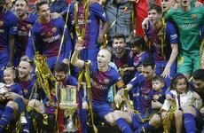 Barca hammer Sevilla to win 30th Copa del Rey