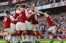 Harsh lesson for Ireland's Rice, as Arsenal secure late victory
