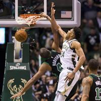 Bucks beat Celtics, LeBron leads Cavs as NBA playoffs get tied up