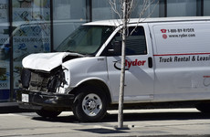At least 8 people injured after van drives into pedestrians in Toronto