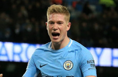 Neville's tribute to De Bruyne: He's like a Scholes and Beckham hybrid