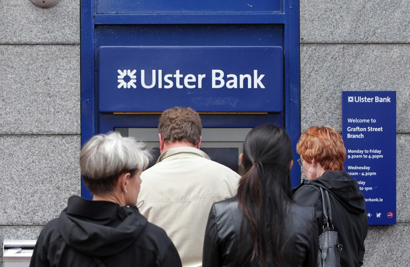 Ulster Bank: \'Human error\' caused cash to disappear from some accounts