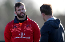 Taute back in training after 7 months out as Munster monitor Ryan and Scannell