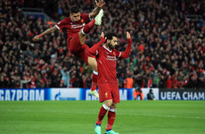 Liverpool rock Roma in Champions League thriller