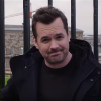 An Australian comedian made an Irish anti-abortion campaigner travel to the UK to interview him about abortion