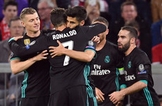 Real Madrid reminiscent of Fergie-era United and more Champions League talking points