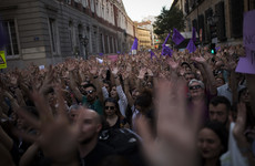 Protests as Spain 'Wolf Pack' acquitted of gang raping woman but jailed for sexual abuse