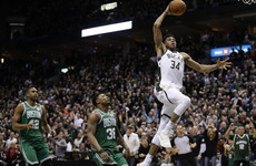 Bucks shipping out to Boston for game seven thanks to 31 points from Giannis