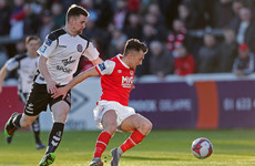 Late equaliser earns Bohemians a share of the spoils against 10-man Saints