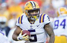 Derrius Guice finally gets the call after dramatic slide down the board
