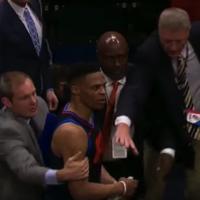 Westbrook blasts 'disrespectful, vulgar' fans after OKC crash out in Utah