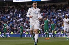 Bale makes bid for Bayern start as Madrid edge Leganes
