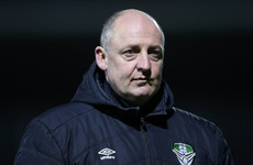 'I'm not an electrician' - Eddie Gormley's patience was wearing thin after floodlight failure last night