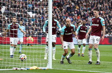Declan Rice involved in unfortunate own goal as Man City stroll to victory over West Ham