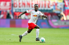 Liverpool-bound Naby Keita sees red for the fourth time this season