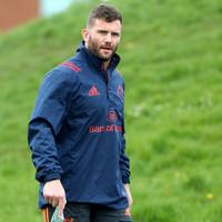 Long-term absentee Taute nearing Munster return ahead of Pro14 quarter-final
