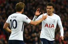 Kane narrows the gap in golden boot race in routine win for Tottenham