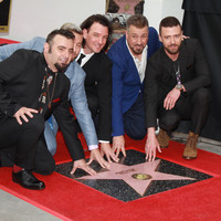 *NSYNC resurrected the 'It's Gonna Be May' meme as they got their Hollywood Walk of Fame star