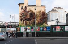 Double Take: The gigantic 3D squirrel beside Tara Street station