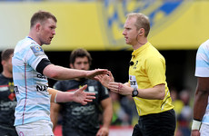Wayne Barnes appointed referee for Leinster's Champions Cup final clash with Racing 92