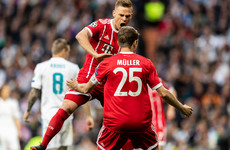 As it happened: Real Madrid v Bayern Munich, Champions League semi-final second leg