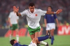 Carrying a torch: Paul McGrath in pole position to carry Olympic flame