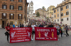Liverpool urge fans in Rome 'under no circumstances' to walk to stadium tonight