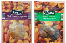 Lidl recalls dried fruit products as labels were not printed in English