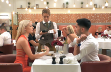 A guy told his date to 'shut up' when she tried to pay on First Dates, and she wasn't a bit impressed