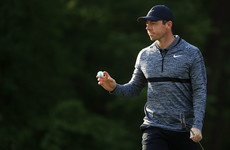 Hat-trick hunting McIlroy off to a solid start at Quail Hollow